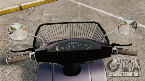 Funny Electro Scooter para GTA 4 vista de volta