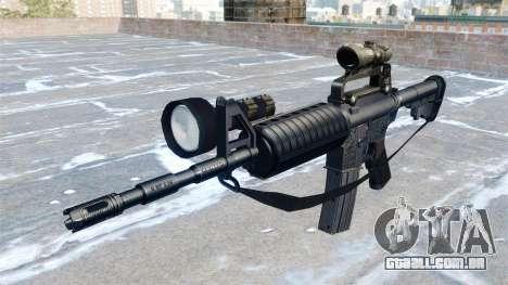 Carabina automática M4A1 para GTA 4