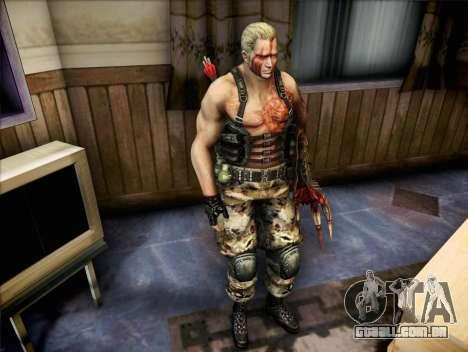 Jack Krauser para GTA San Andreas segunda tela