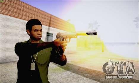 Lamar Davis GTA V para GTA San Andreas quinto tela