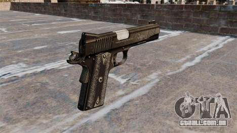 Pistola Colt 45 Kimber para GTA 4 segundo screenshot