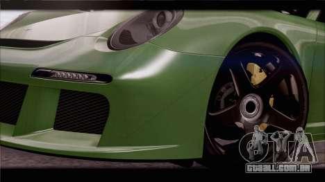 RUF RGT-8 para o motor de GTA San Andreas