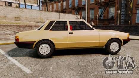 Ford Taunus GLS v2.0 para GTA 4 esquerda vista
