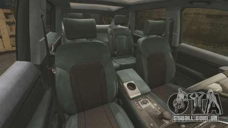 Audi Q7 Unmarked Police [ELS] para GTA 4 vista lateral
