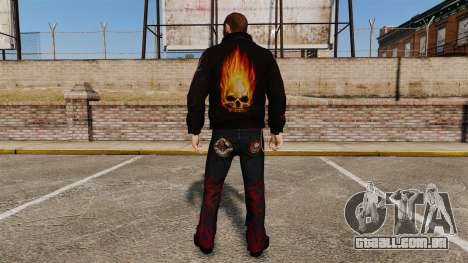 Roupa de motoqueiro para GTA 4 segundo screenshot