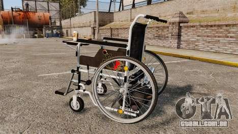 Funny Wheelchair para GTA 4 esquerda vista