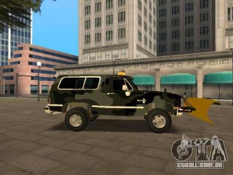 Chevrolet Blazer para GTA San Andreas vista direita