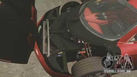 Pagani Huyara [EPM] para GTA 4 vista interior
