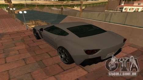 Carbonizzare de GTA 5 para GTA San Andreas vista direita