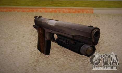 A arma de Left 4 Dead 2 para GTA San Andreas