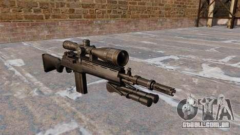 O rifle semi-automático M14 para GTA 4