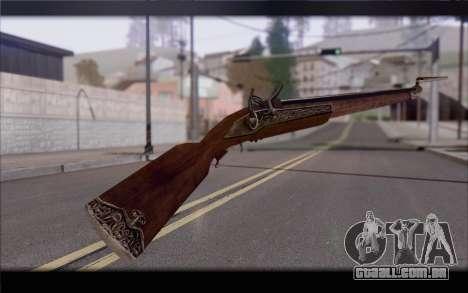 Mosquete para GTA San Andreas segunda tela