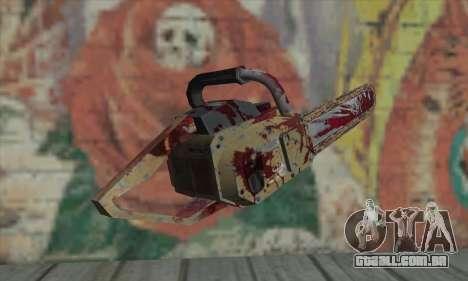 Serra elétrica para GTA San Andreas segunda tela