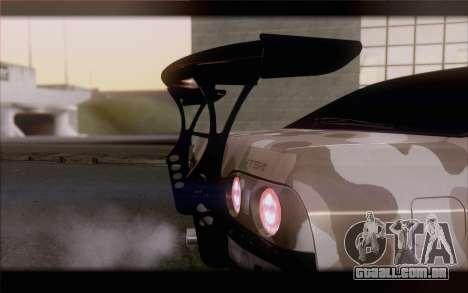 Nissan Skyline GTS Drift Spec para GTA San Andreas vista traseira
