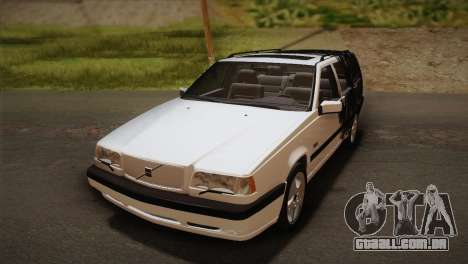 Volvo 850 Estate Turbo 1994 para GTA San Andreas vista superior