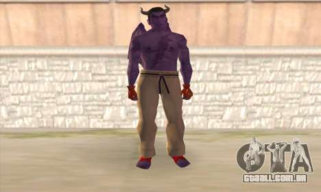 Devil Kazuya Mishima para GTA San Andreas