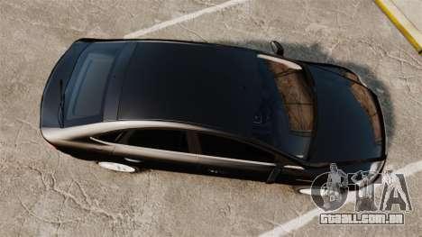 Ford Mondeo Unmarked Police [ELS] para GTA 4 vista direita
