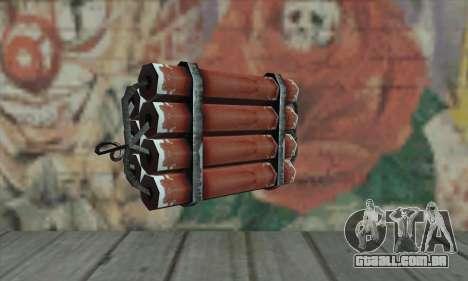 Dynamite para GTA San Andreas segunda tela