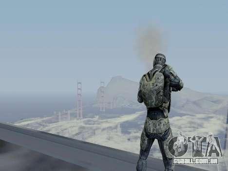 Nano-terno coreano de Crysis para GTA San Andreas sexta tela