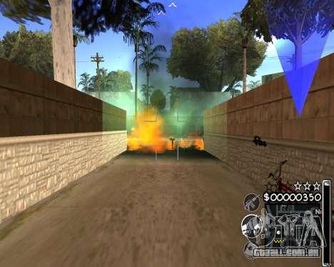 C-HUD by 6a6yuH para GTA San Andreas terceira tela