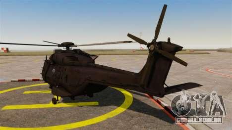 Eurocopter NHIndustries NH90 [EPM] para GTA 4 traseira esquerda vista