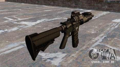 Automático M4 carbine tático para GTA 4 segundo screenshot
