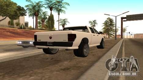 Bison de GTA 5 para GTA San Andreas esquerda vista