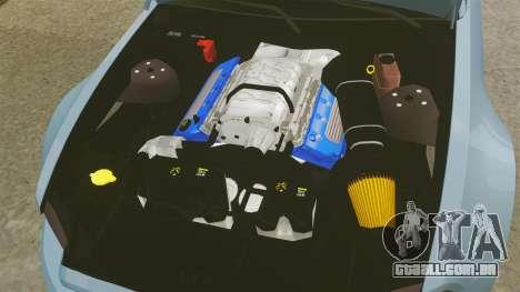 Ford Mustang GT 2013 Widebody NFS Edition para GTA 4 vista interior