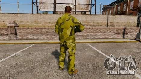 O uniforme de camuflagem sueca para GTA 4 segundo screenshot