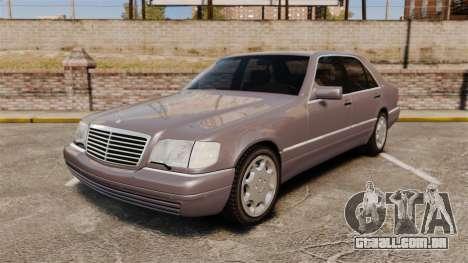 Mercedes-Benz S600 W140 para GTA 4