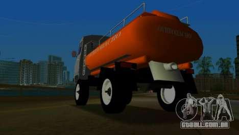 UAZ 465 caminhão para GTA Vice City vista direita