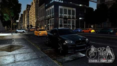 BMW X6 M Hamann 2013 Vossen para GTA 4 vista interior