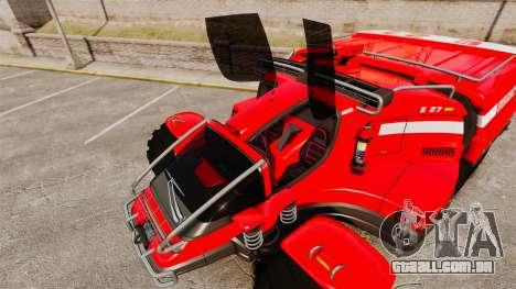Pro Track SR2 Firetruck [ELS] para GTA 4 motor