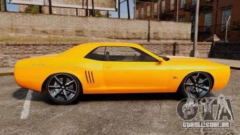 GTA V Gauntlet 450cui Turbocharged para GTA 4 esquerda vista