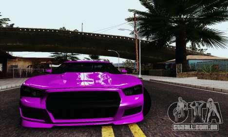Búfalo de GTA V para GTA San Andreas vista direita