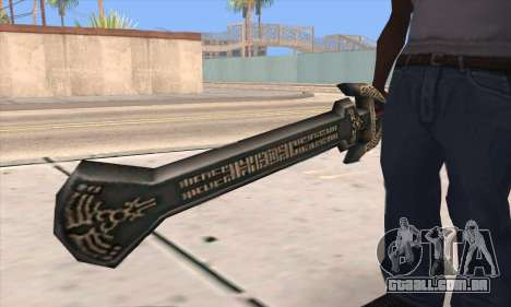Sword of Darknut para GTA San Andreas terceira tela