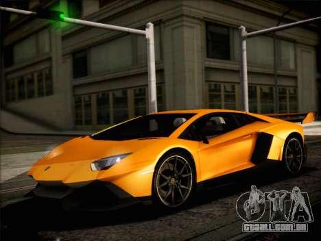 Lamborghini Aventador LP720 para GTA San Andreas vista direita