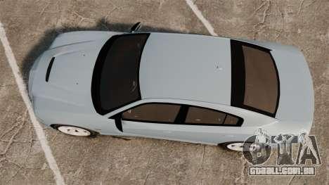 Dodge Charger 2012 para GTA 4 vista direita
