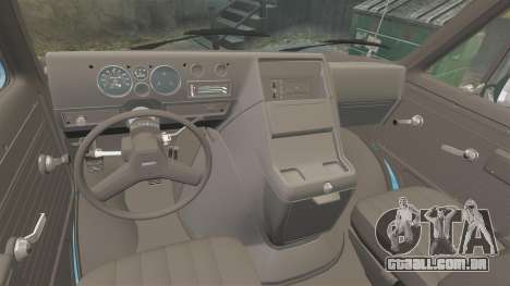 GMC Vandura G-1500 1983 Tuned [EPM] Frozen para GTA 4 vista interior