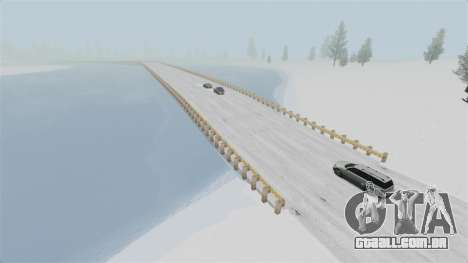 Localização do país das maravilhas do Ártico para GTA 4 terceira tela