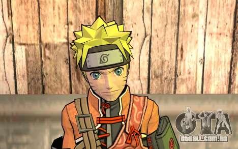 Naruto Rajdžinu para GTA San Andreas terceira tela