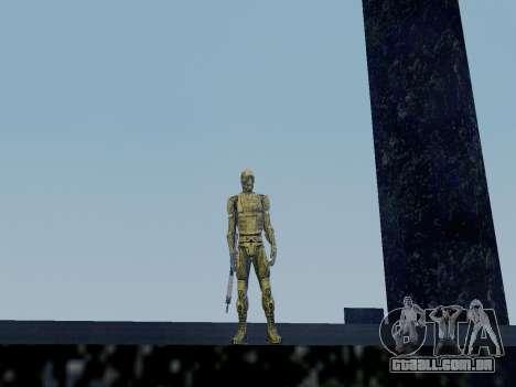 Nano-terno coreano de Crysis para GTA San Andreas segunda tela