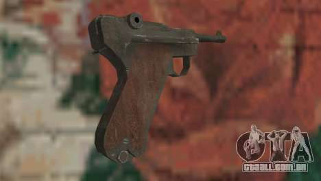 Luger para GTA San Andreas segunda tela