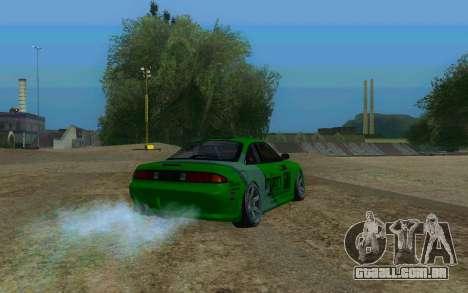 Nissan Silvia S14a para GTA San Andreas esquerda vista