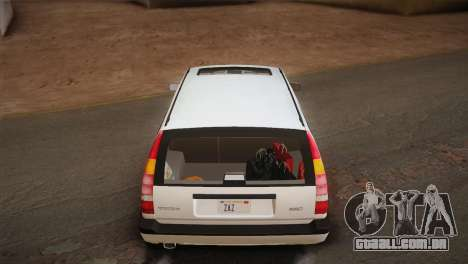 Volvo 850 Estate Turbo 1994 para GTA San Andreas interior