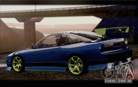 Nissan 240sx drift para GTA San Andreas esquerda vista