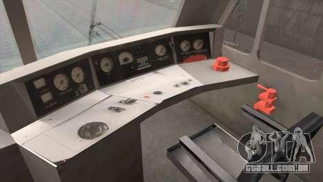 ÈP200-0001 para GTA San Andreas vista traseira