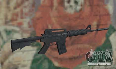 M4A1 de Saints Row 2 para GTA San Andreas segunda tela