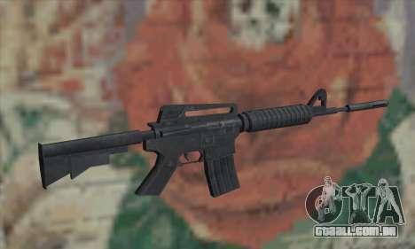 M4A1 de Saints Row 2 para GTA San Andreas segunda tela
