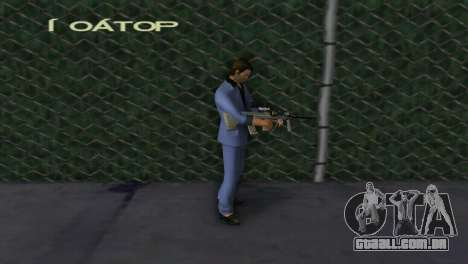 Steyr AUG para GTA Vice City terceira tela